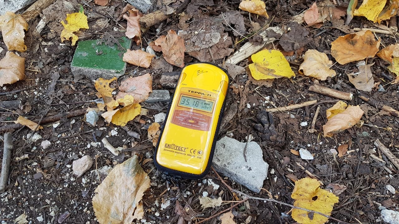Černobyl - radiace