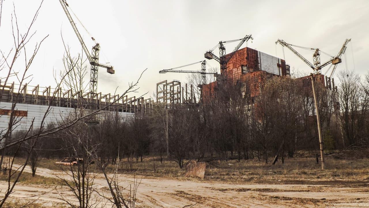 Černobylská jaderná elektrárna - 5. a 6.blok
