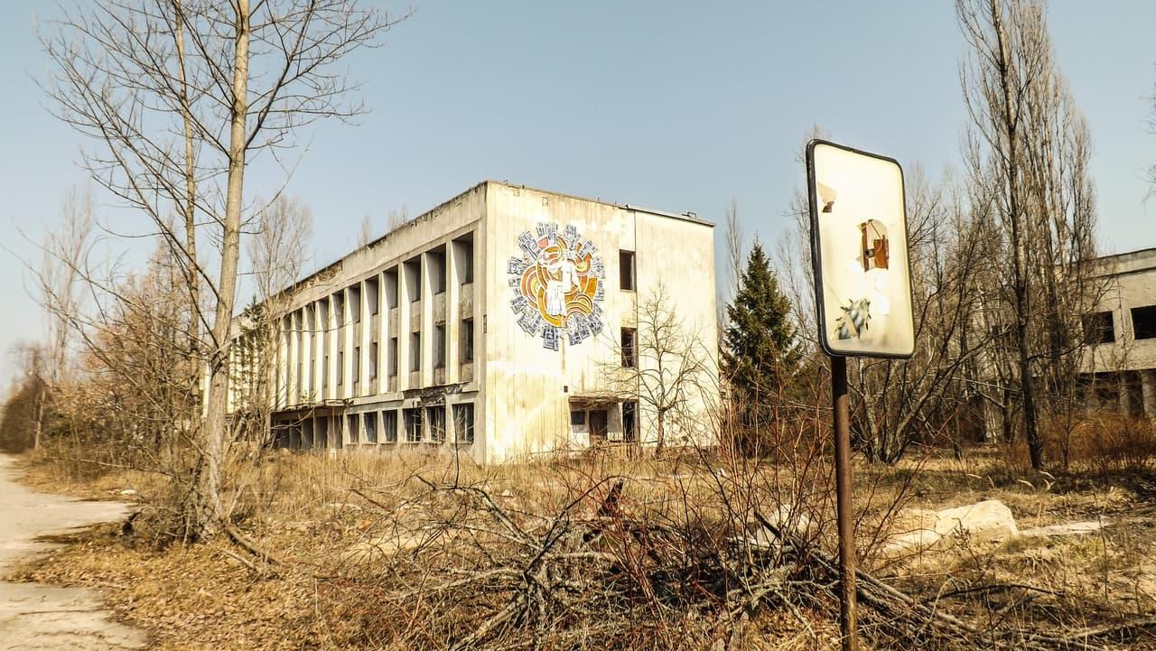Město Pripjať - Pošta
