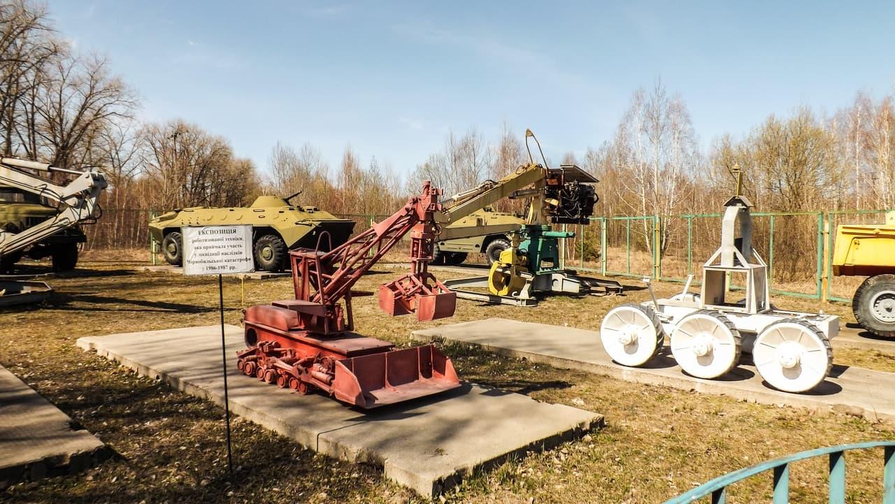 Město Černobyl - muzeum techniky