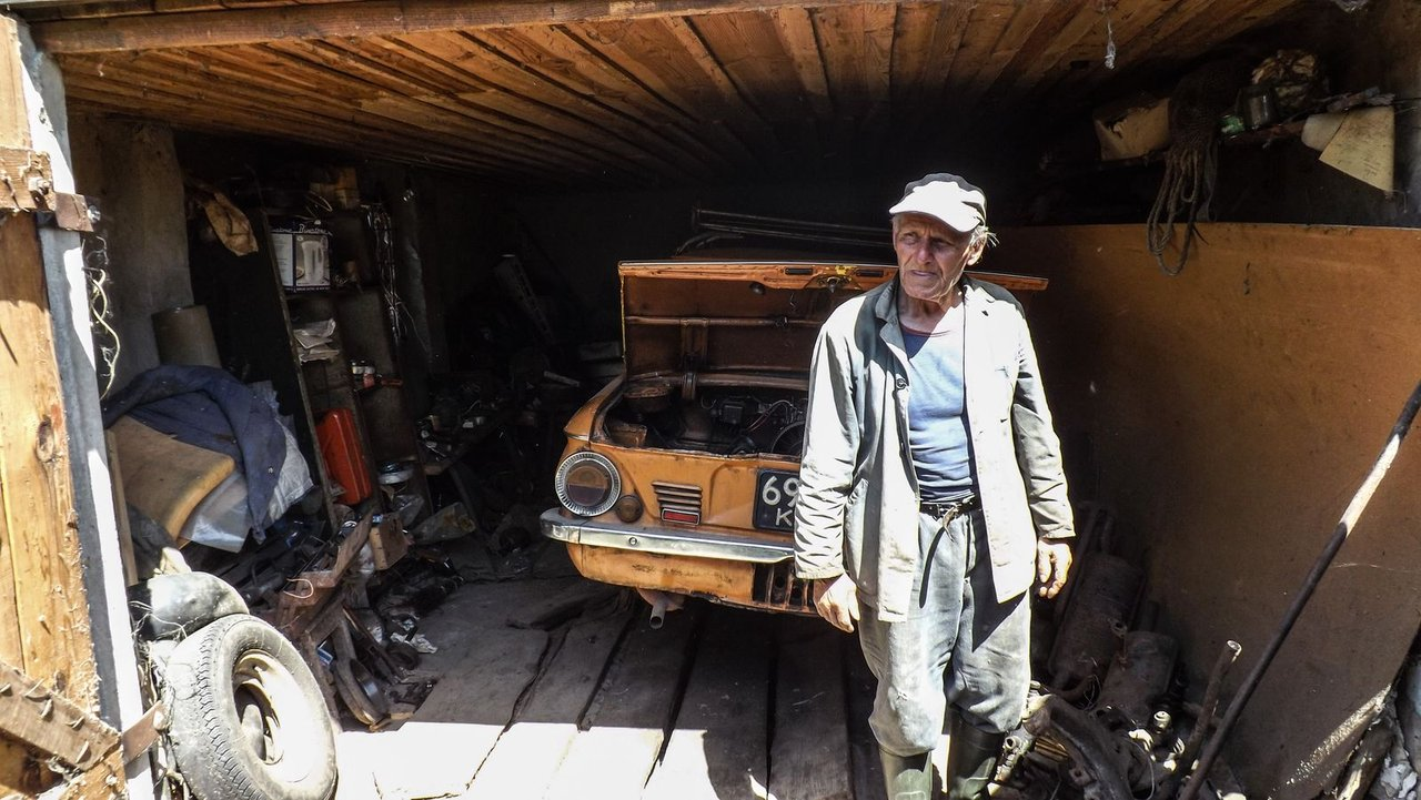 Obec Paryšev - lidé žijící v Černobylu